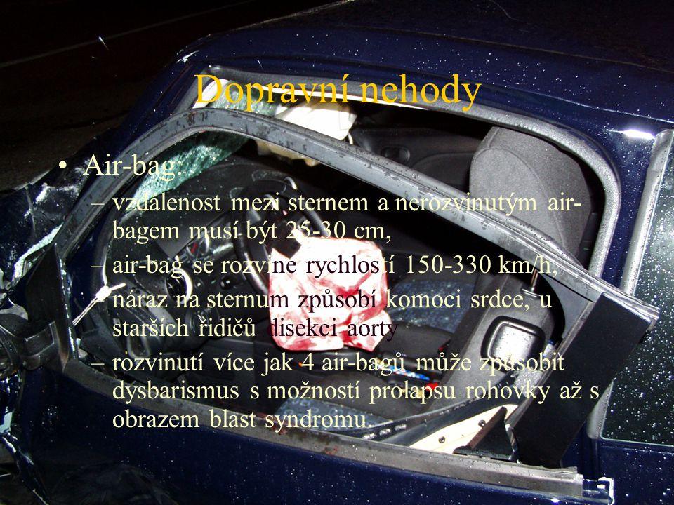 Dopravní nehody Air-bag: