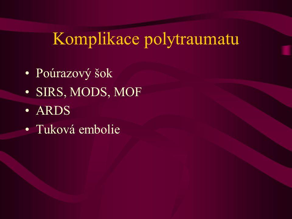 Komplikace polytraumatu