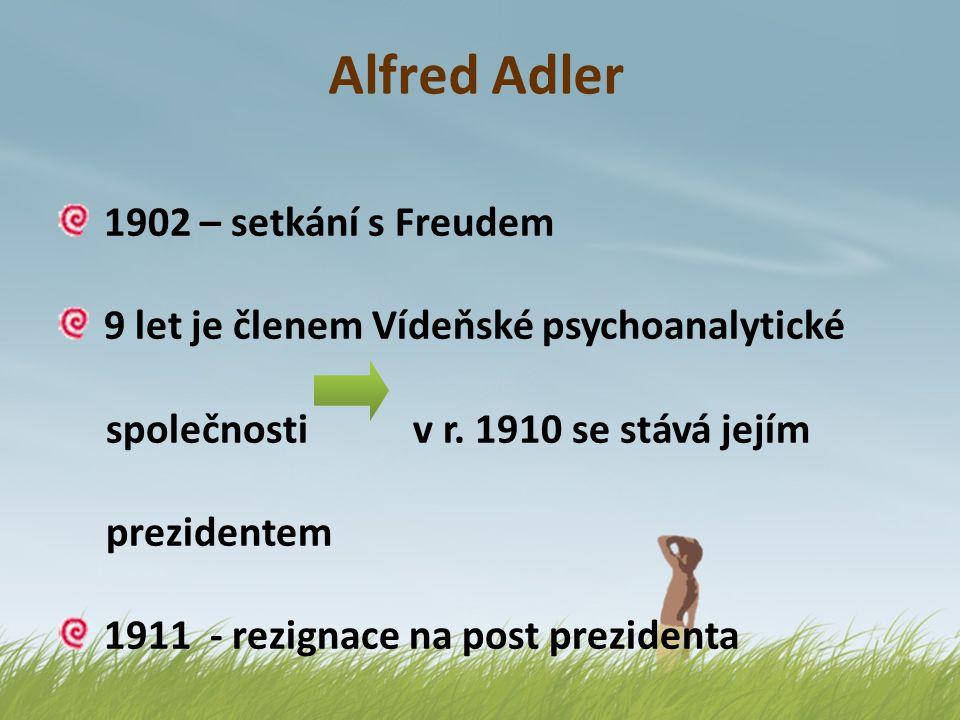 Alfred Adler 1902 – setkání s Freudem