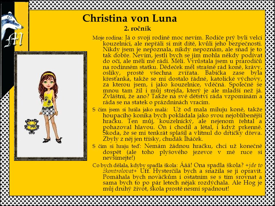 Christina von Luna 2. ročník