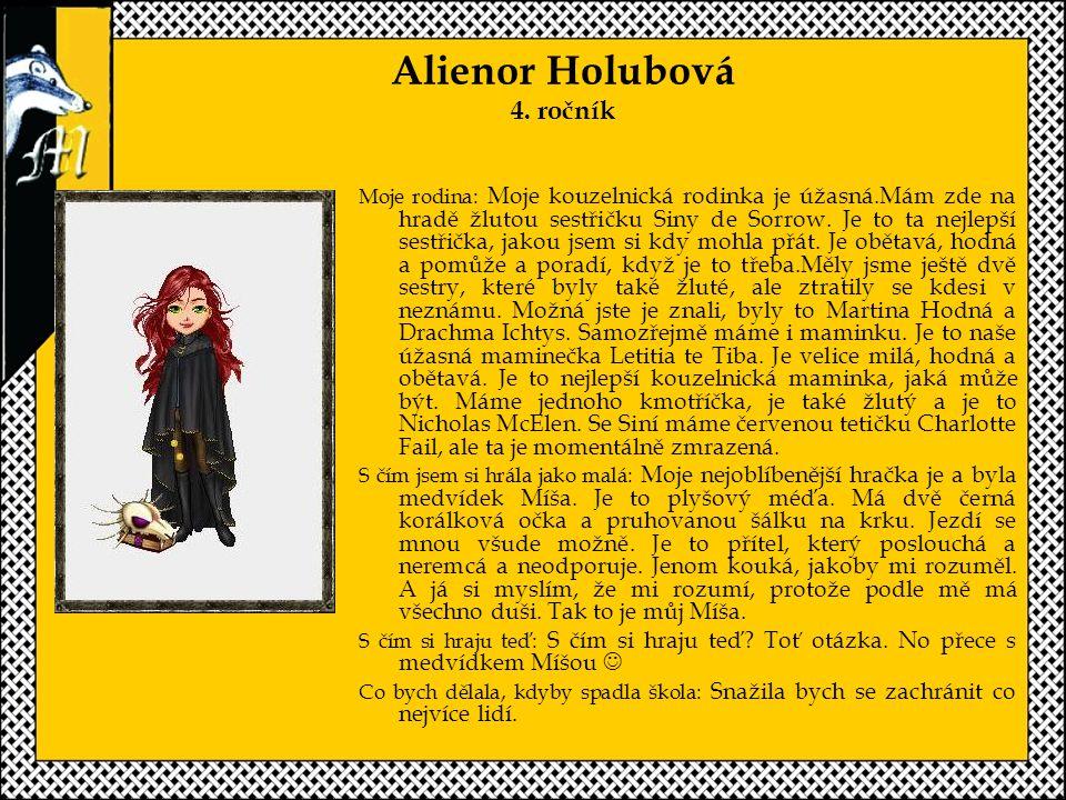 Alienor Holubová 4. ročník