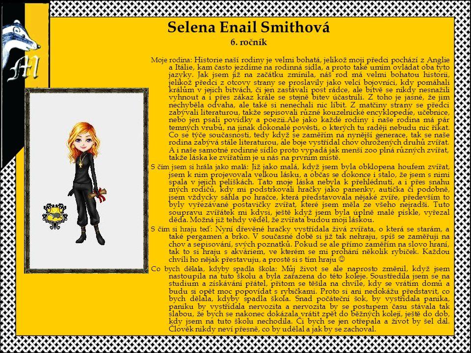 Selena Enail Smithová 6. ročník