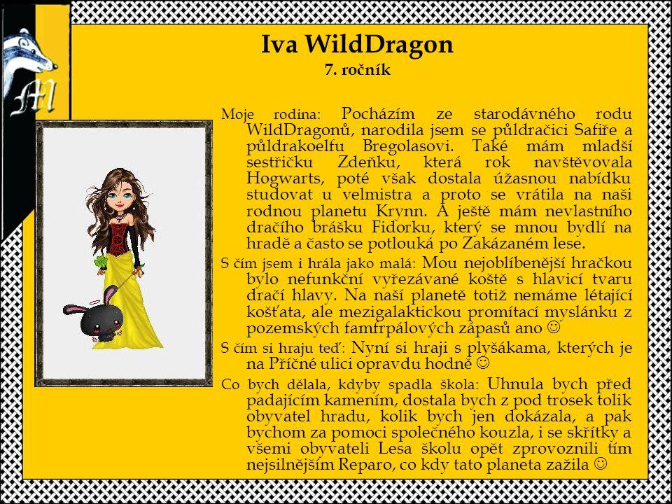 Iva WildDragon 7. ročník