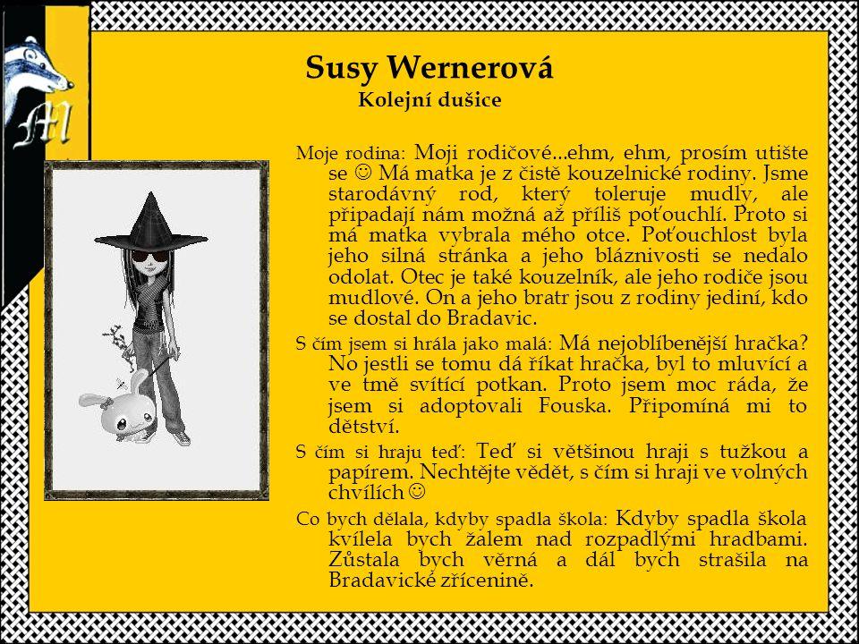 Susy Wernerová Kolejní dušice