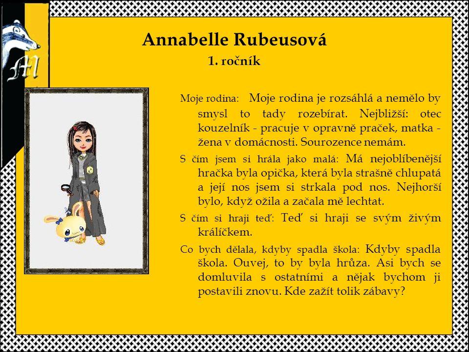 Annabelle Rubeusová 1. ročník