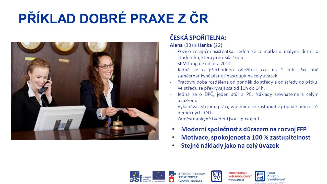 PŘÍKLAD DOBRÉ PRAXE Z ČR