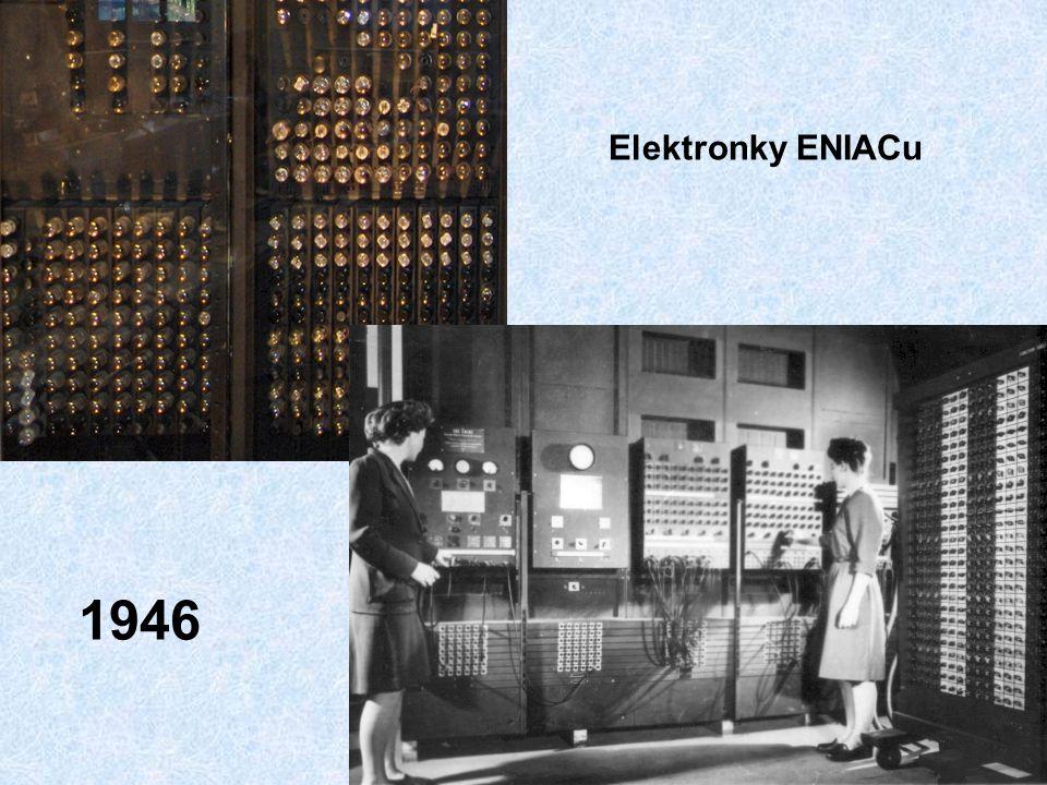 Elektronky ENIACu 1946