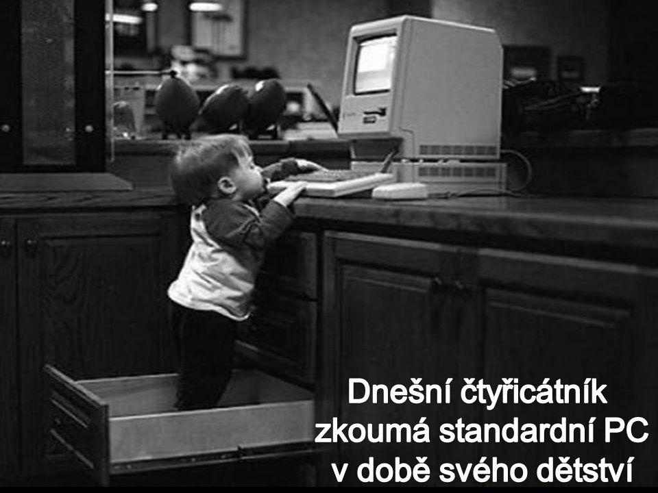 Dnešní čtyřicátník zkoumá standardní PC v době svého dětství