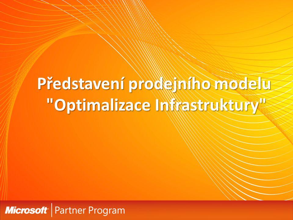 Představení prodejního modelu Optimalizace Infrastruktury