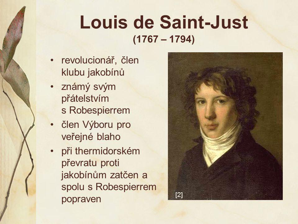 Louis de Saint-Just (1767 – 1794)