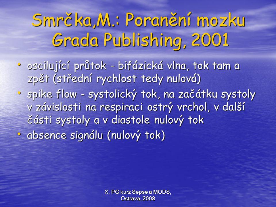 Smrčka,M.: Poranění mozku Grada Publishing, 2001