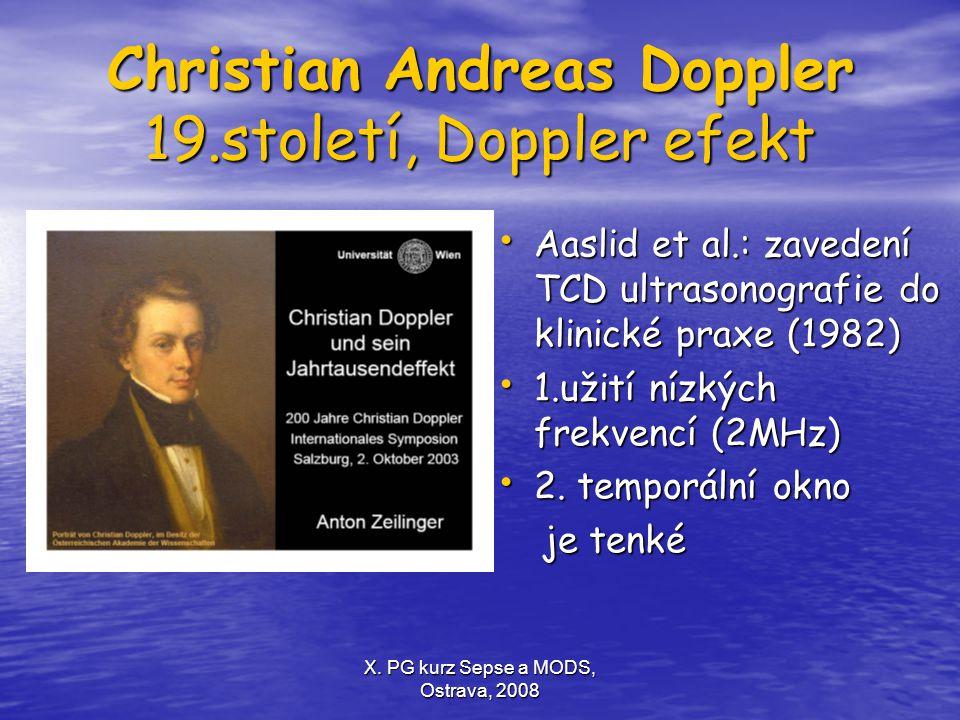 Christian Andreas Doppler 19.století, Doppler efekt