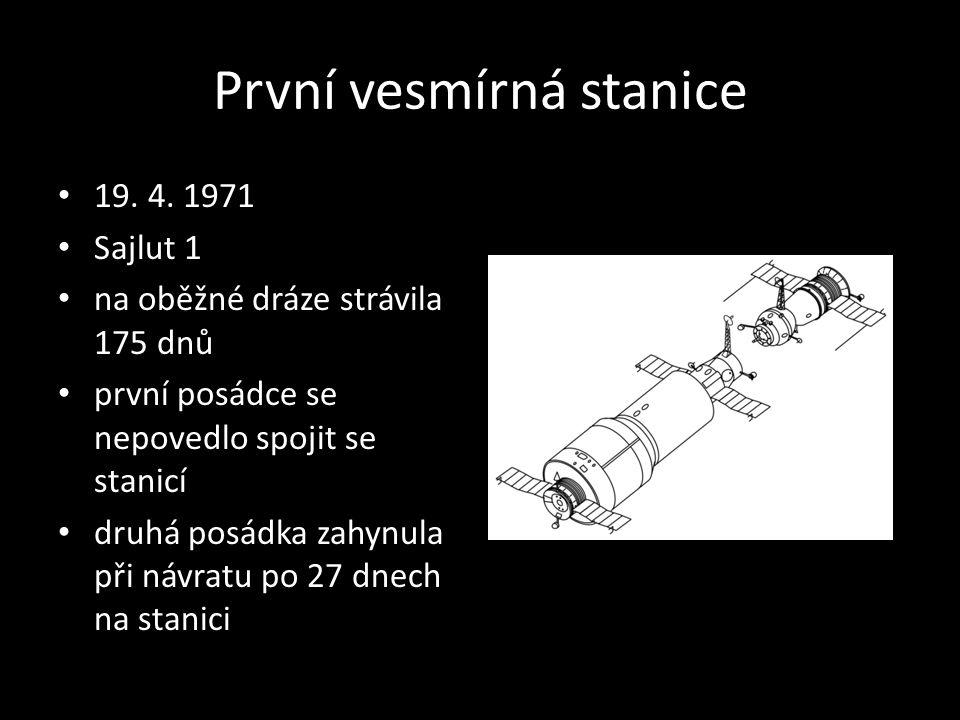 První vesmírná stanice