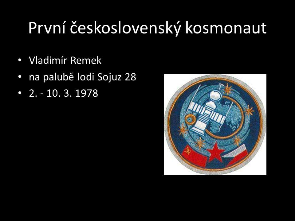 První československý kosmonaut