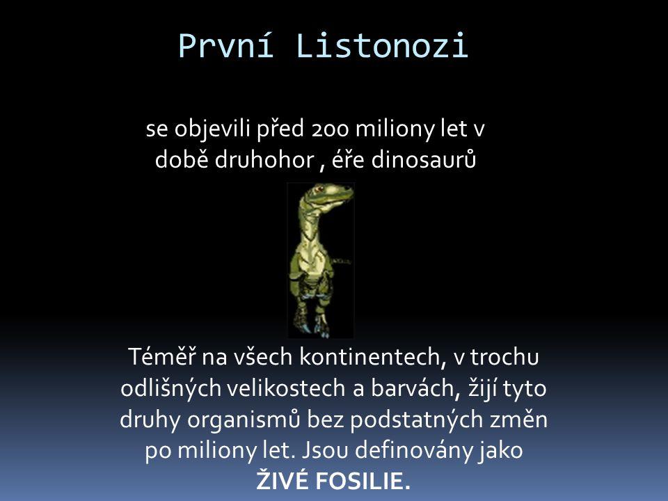 se objevili před 200 miliony let v době druhohor , éře dinosaurů