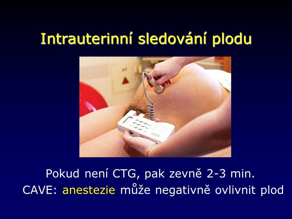 Intrauterinní sledování plodu