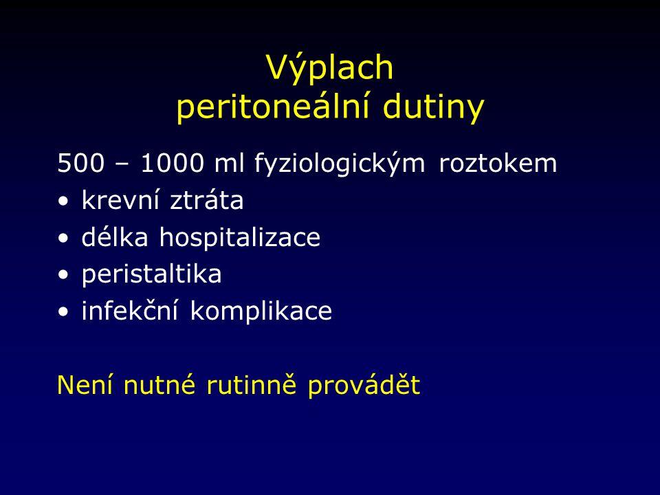 Výplach peritoneální dutiny
