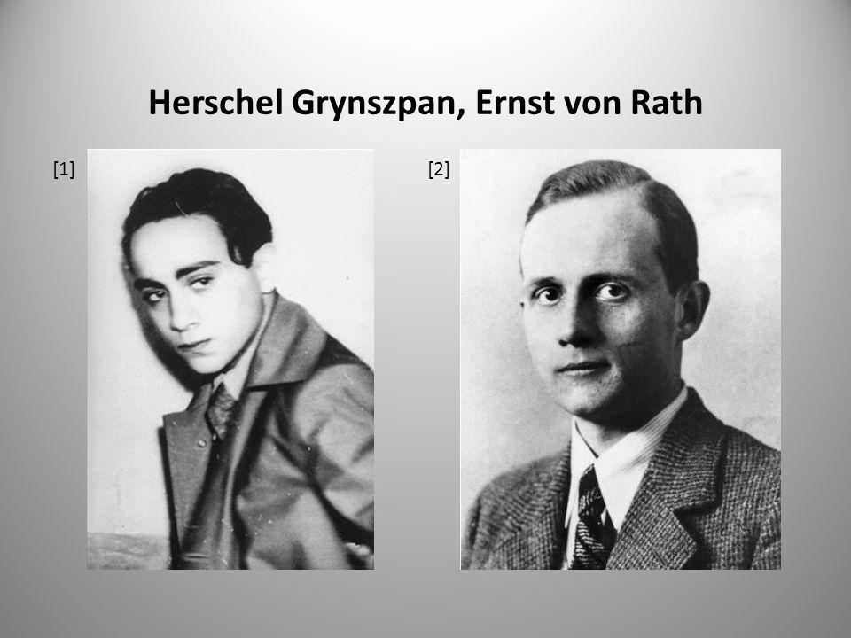 Herschel Grynszpan, Ernst von Rath