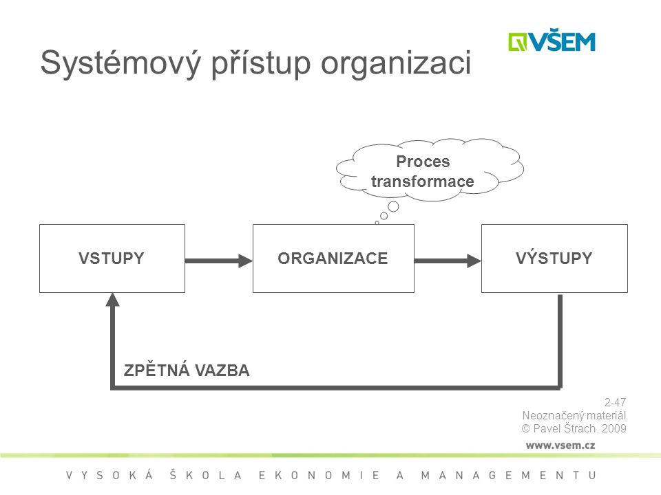 Systémový přístup organizaci