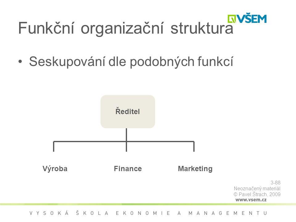 Funkční organizační struktura