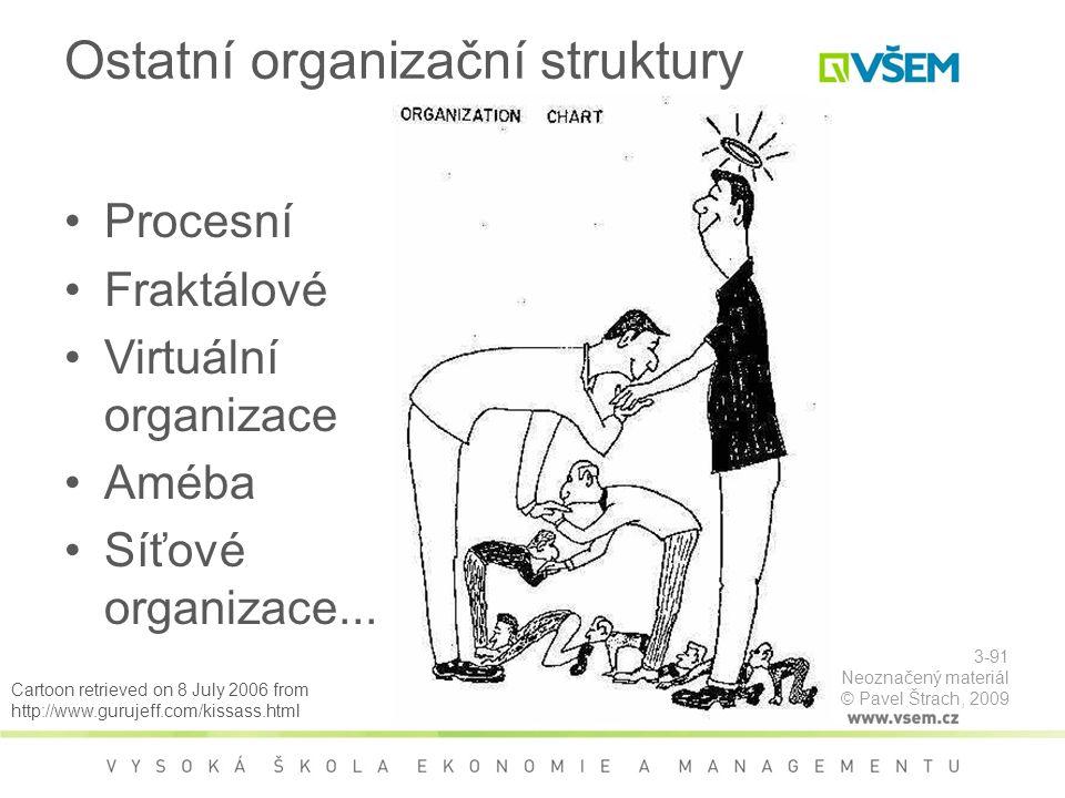 Ostatní organizační struktury