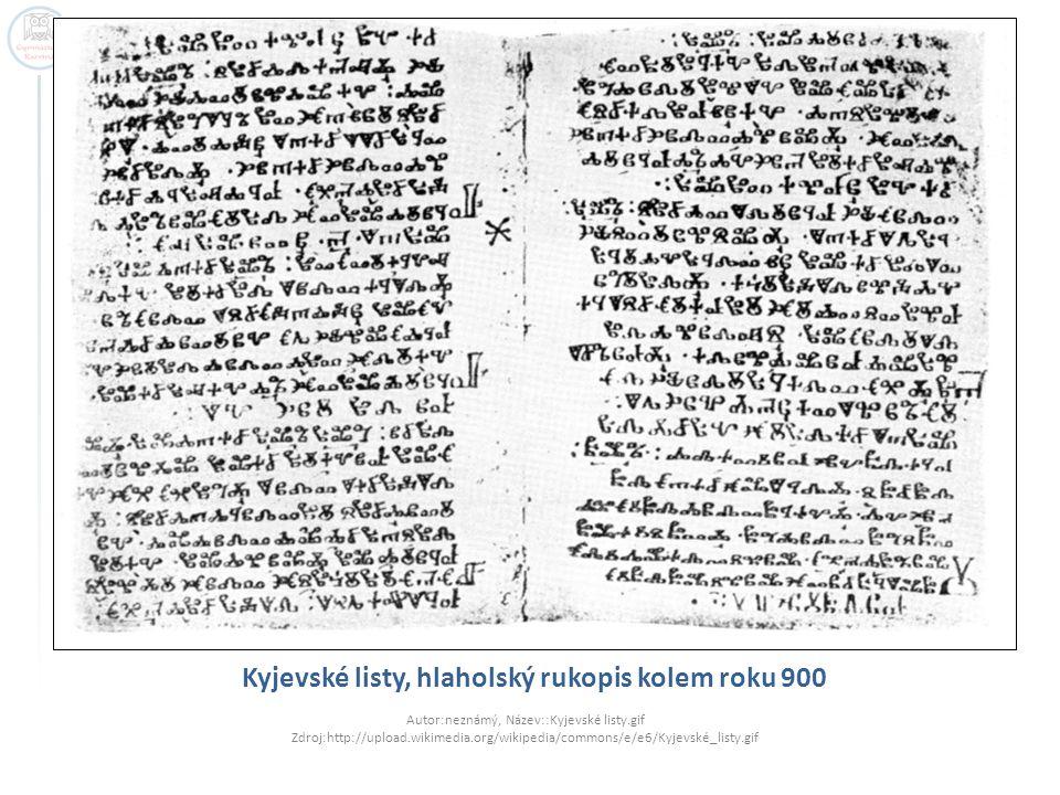 Kyjevské listy, hlaholský rukopis kolem roku 900