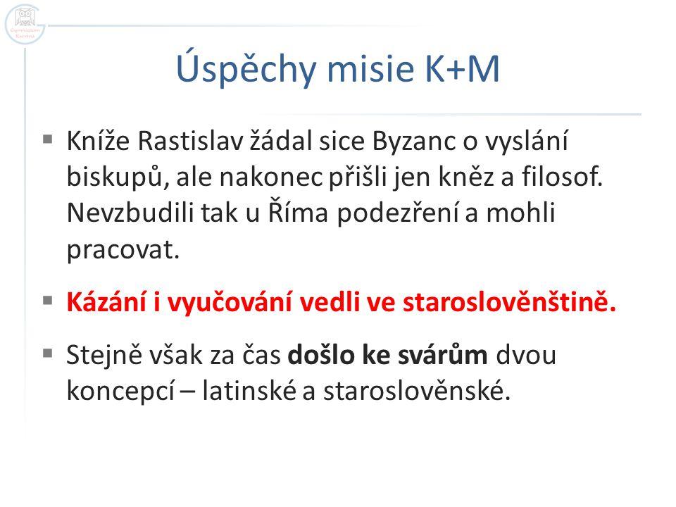 Úspěchy misie K+M
