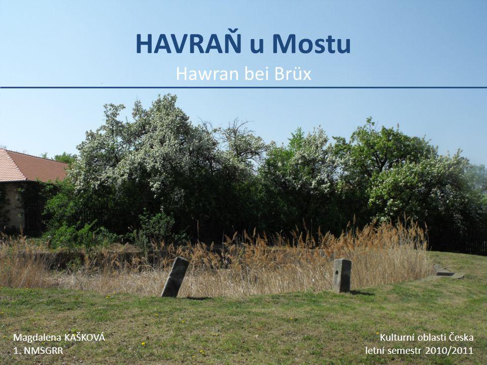HAVRAŇ u Mostu Hawran bei Brüx