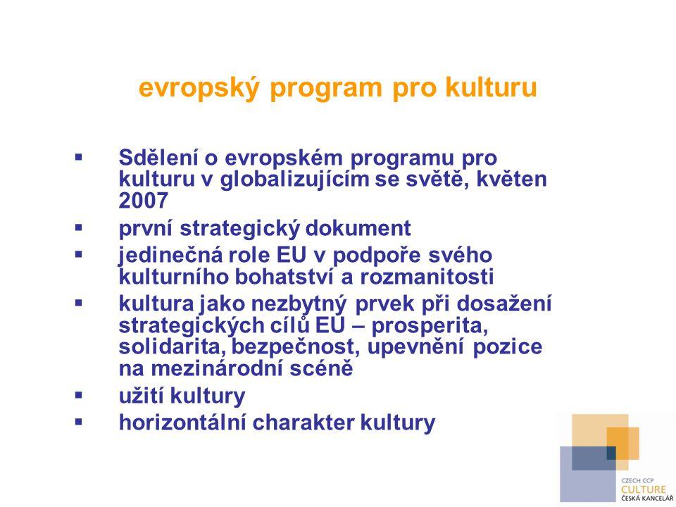 evropský program pro kulturu