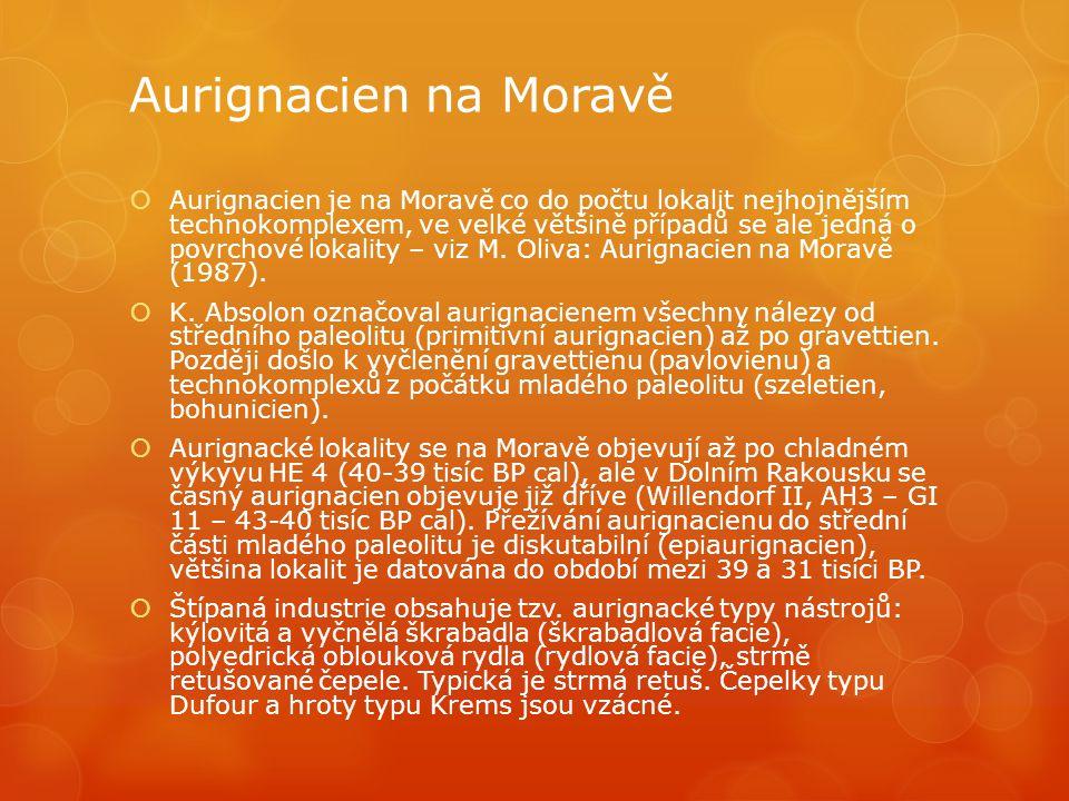 Aurignacien na Moravě