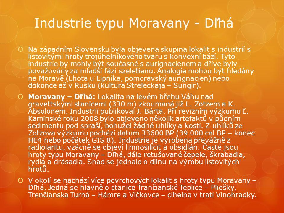 Industrie typu Moravany - Dľhá