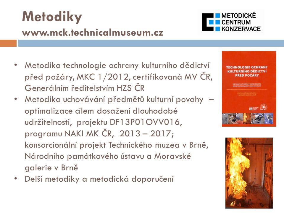 Metodiky www.mck.technicalmuseum.cz