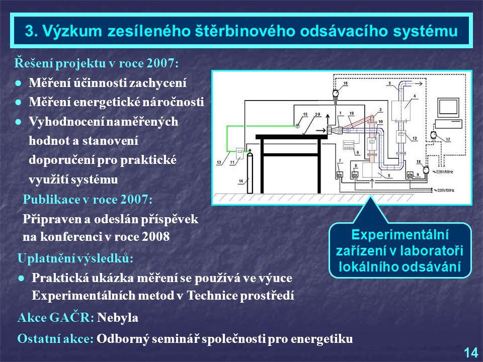 Ing. Lukáš Malásek - Téma 3, Kontrol. etapa