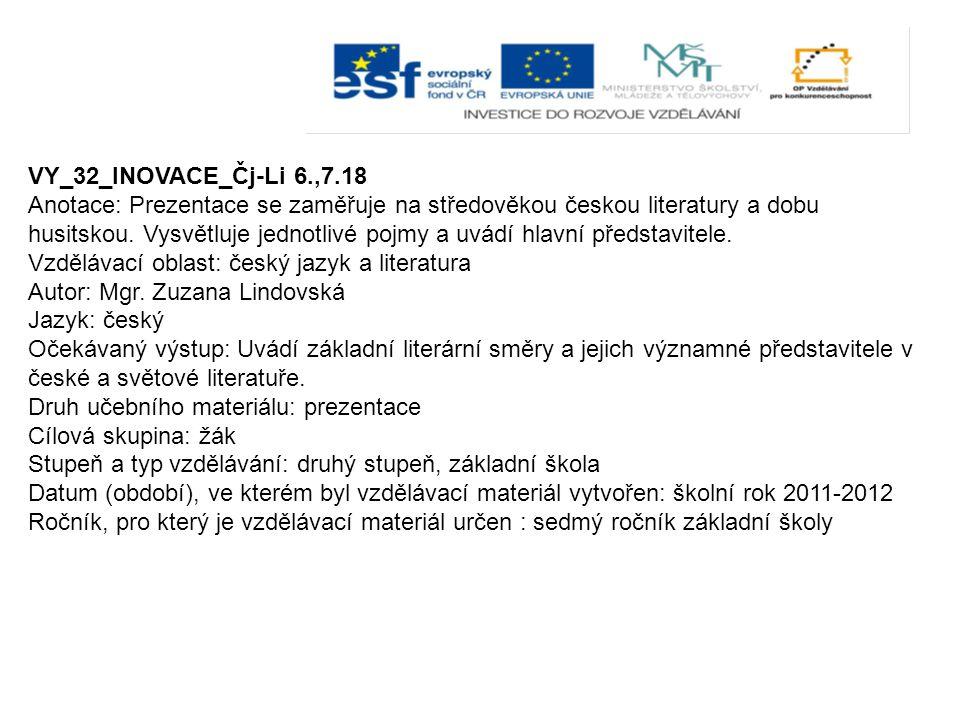 VY_32_INOVACE_Čj-Li 6.,7.18