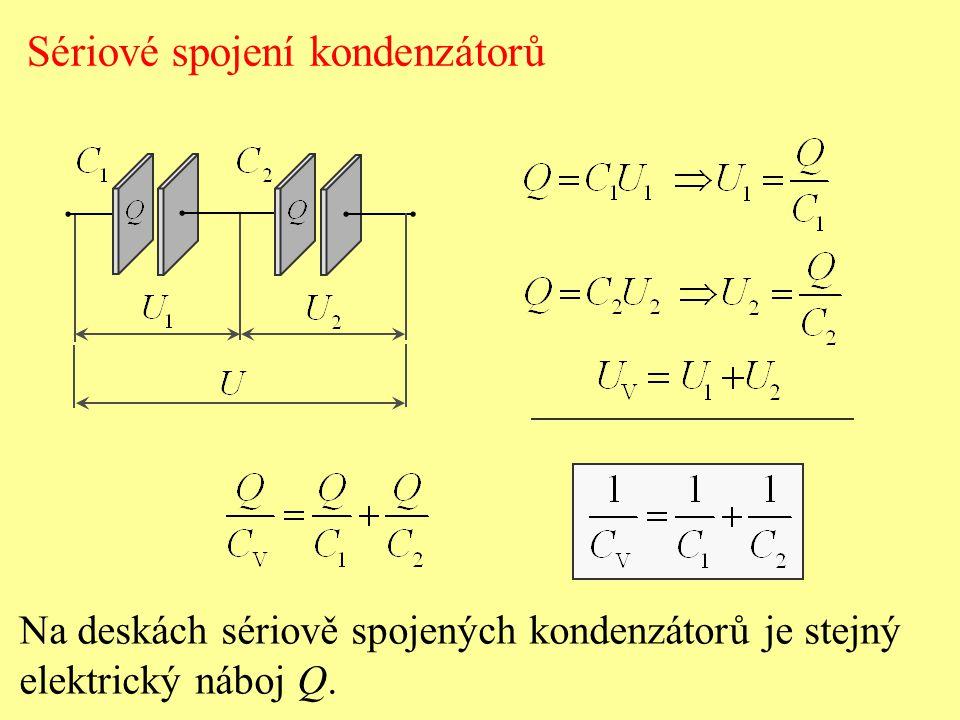 Sériové spojení kondenzátorů