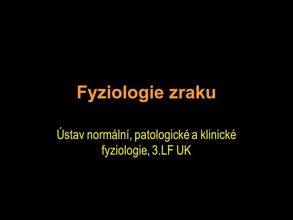 Ústav normální, patologické a klinické fyziologie, 3.LF UK