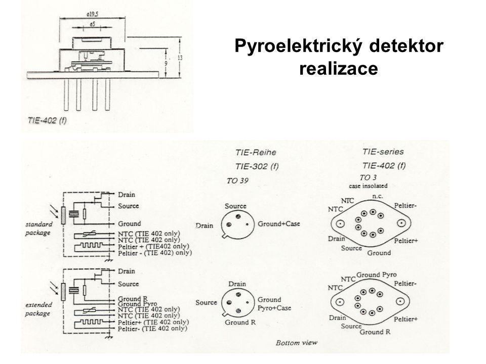 Pyroelektrický detektor