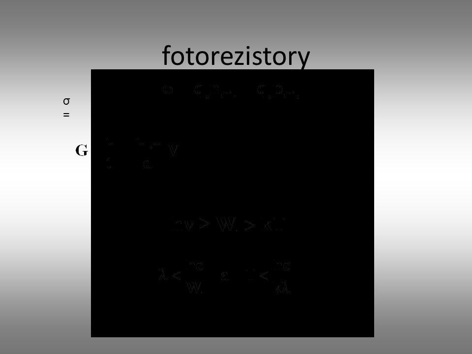 fotorezistory σ=