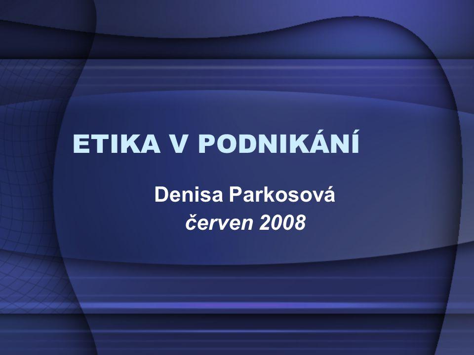 Denisa Parkosová červen 2008