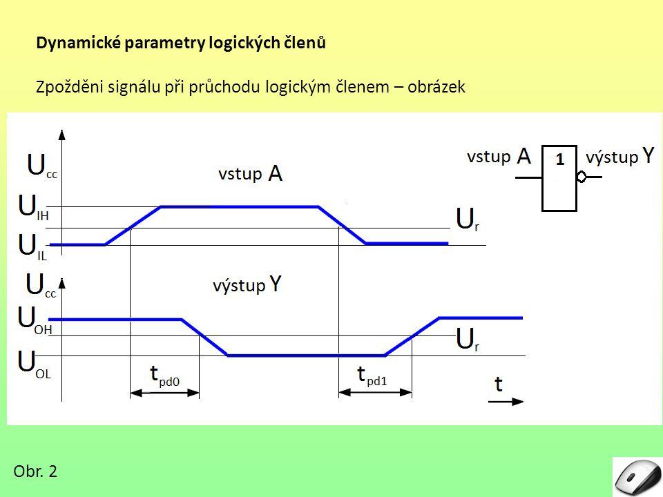 Dynamické parametry logických členů