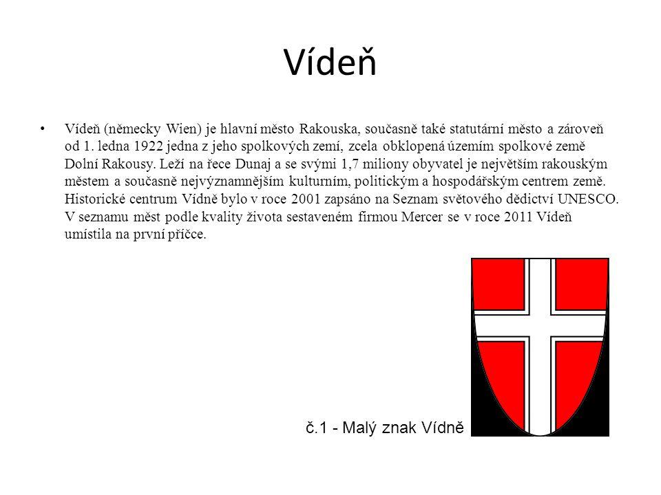 Vídeň č.1 - Malý znak Vídně