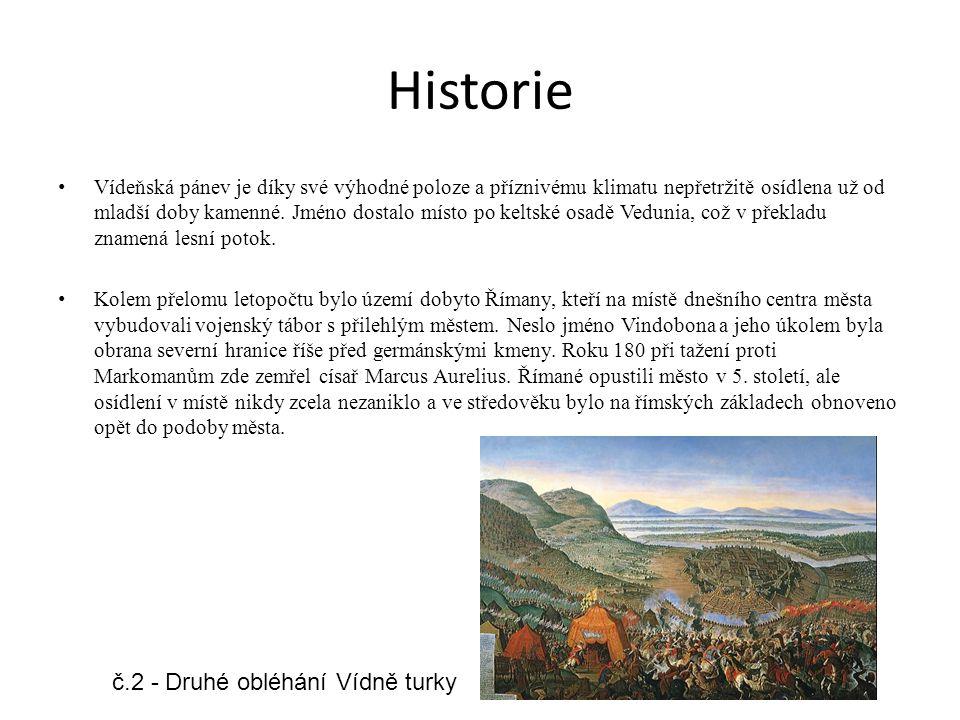 Historie č.2 - Druhé obléhání Vídně turky