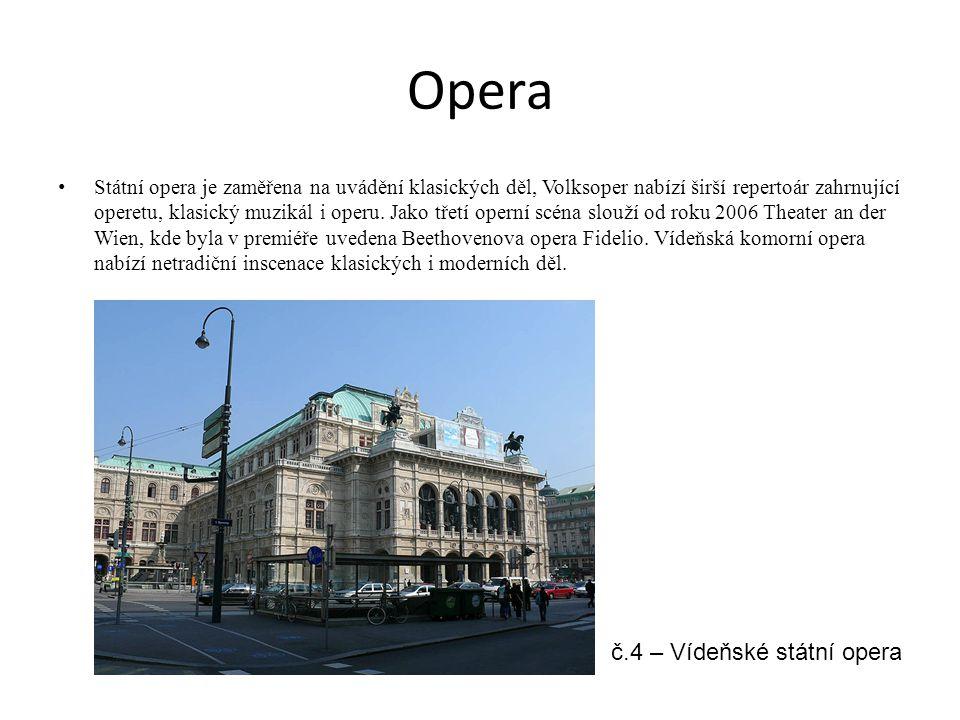 Opera č.4 – Vídeňské státní opera