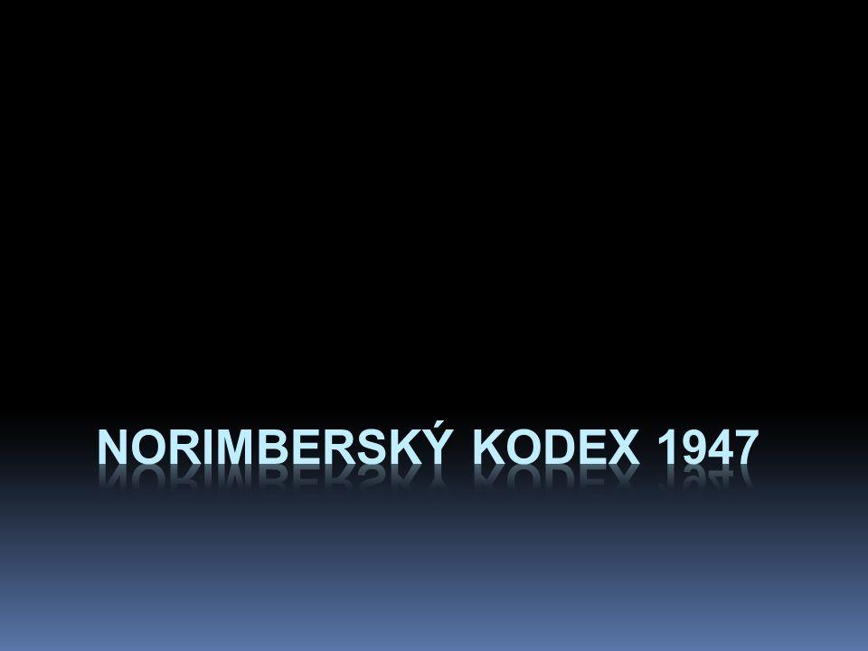 Norimberský kodex 1947