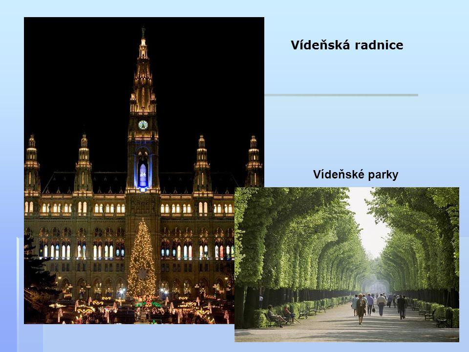 Vídeňská radnice Vídeňské parky