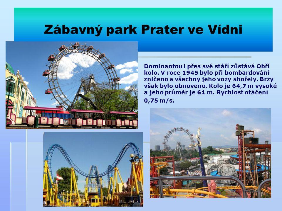 Zábavný park Prater ve Vídni