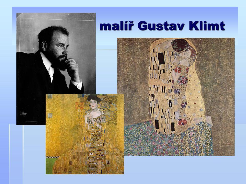 malíř Gustav Klimt
