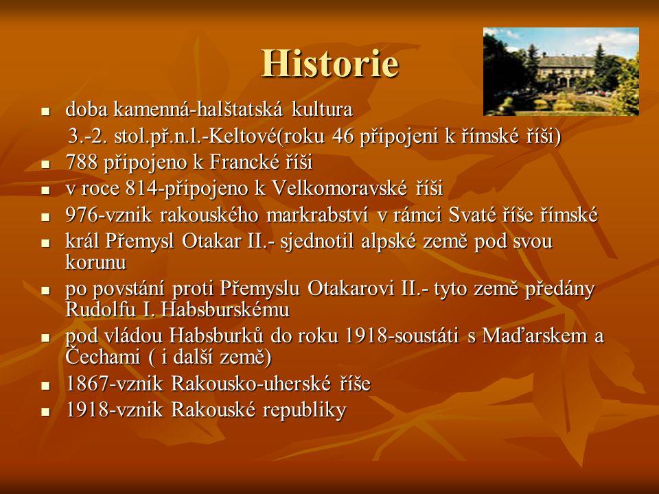 Historie doba kamenná-halštatská kultura