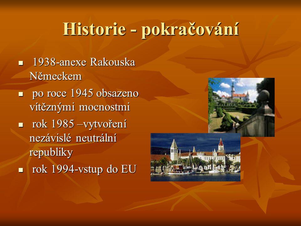 Historie - pokračování