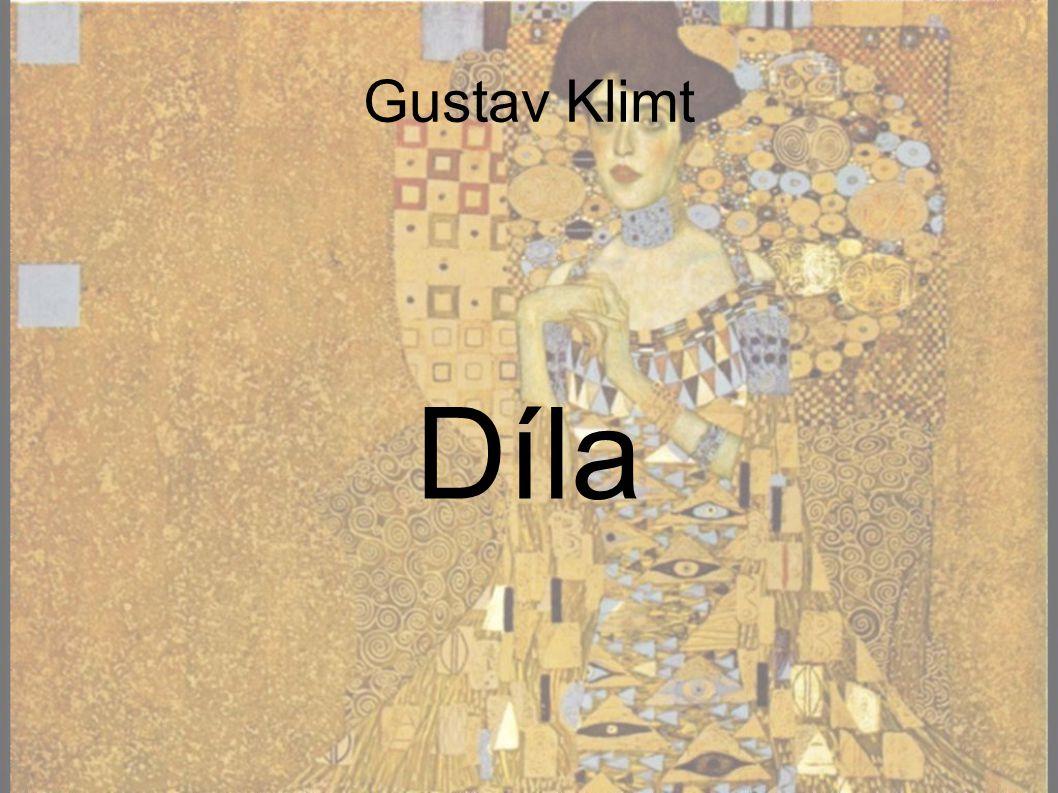 Gustav Klimt Díla